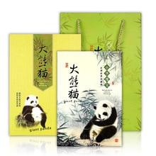 Animal 2019 New Panda Book Bamboo Notebook History Silk Cartoon Cute Agenda Planner 365 Calendar Yellow