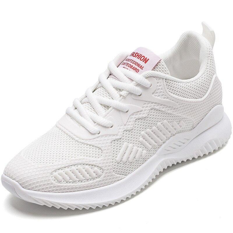 Zapatillas deportivas informales para mujer, zapatos deportivos cómodos, con malla, a la moda, para otoño, 2020