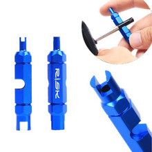 Bicycle Tube Tire Valve Repair Remove Tools Road Bike MTB Cycle Valve Core Tool For Schrader Presta Extender Tubeless Valve(China)