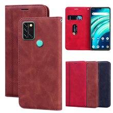 Telefone carteira caso para umidigi a9 pro pro leather leather leather leather capa de couro capa protetora caso da aleta umidigi umi a9 pro etui funda escudo capa