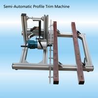 Maquina de carpinteria semiautomática simulação de máquinas para trabalhar madeira borda moagem ferramentas para trabalhar madeira borda aparador
