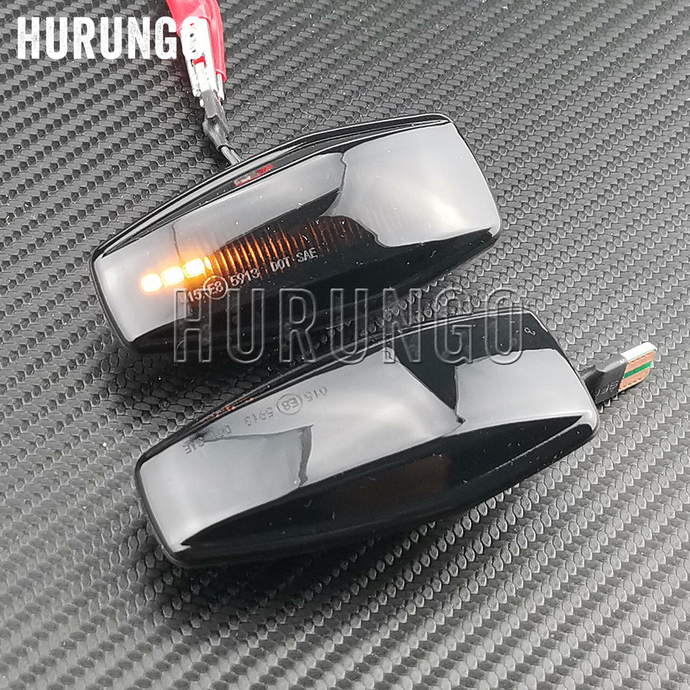 2pcs For Hyundai Flowing Water Indicator LED Side Marker Turn Signal Light For Elantra Getz Sonata XG Terracan Tucson