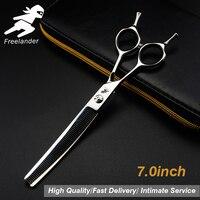7.0 inch professional scissors dog pet grooming polishing tool animal hair Cutting Scissors