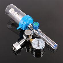 """Pressure Regulator O2 Medical Oxygen inhaler Pressure Reducing Valve Oxygen Meter G5/8"""" 0-10L/min"""