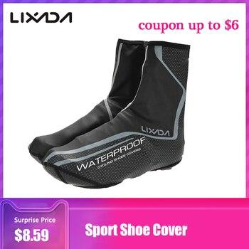 Чехол для спортивной обуви Lixada, термозащитный чехол для горного велосипеда, защита от ветра