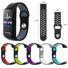 2019 Newly 6 colors Sports Wristband Silicone Replacement Watch Band Wrist Strap 18MM For Samsung SM-R370 Smart Watch
