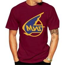 2021 lazer moda 100% algodão o-pescoço camiseta masculina mikoyan gurevich (russo aircraft corporation mig) logotipo unissex
