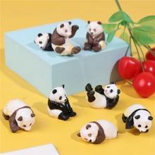 Ornament Fairy Decoration Terrarium-Figurine Garden Miniature Panda Funny Micro-Landscape