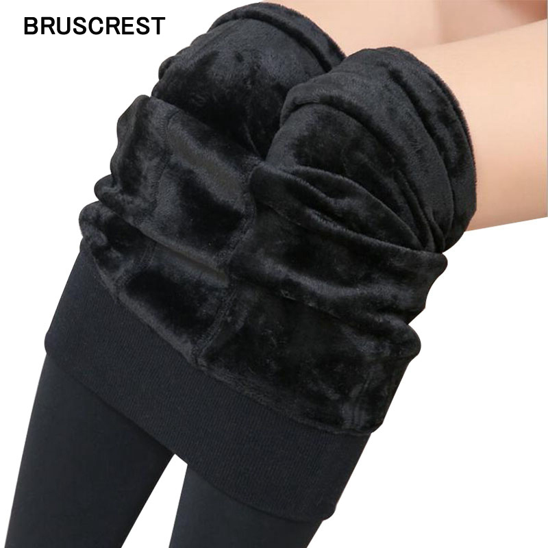 2020 High Waist Leggings Warm Pants Winter Fleece Leggings Black Winter Legging Women Skinny Jeggings Slim Sexy Leggings Velvet