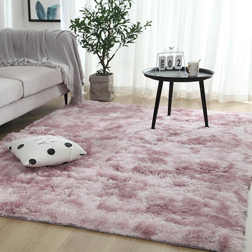 Tie-dye Carpet Soft Area Rugs Washable Full Bedroom Modern Nordic Ins Style Variegated Gradient Carpet For Living Room Coffee Ta