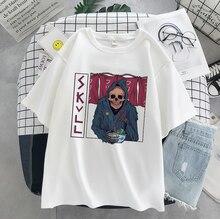 Модная уличная футболка dark edgy с графическим рисунком Готическая