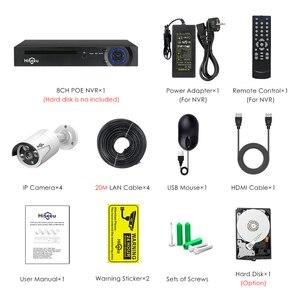 Image 5 - 8ch poe nvr kits ieee802.3af 48v sistema de cctv 1080p câmera ao ar livre indoor à prova d2água 2mp segurança vídeo vigilância conjunto hiseeu