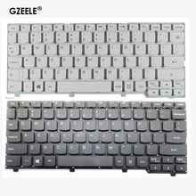 GZEELE новая английская клавиатура для Lenovo ideapad 100S 100S-11IBY английская клавиатура для ноутбука черного/белого цвета