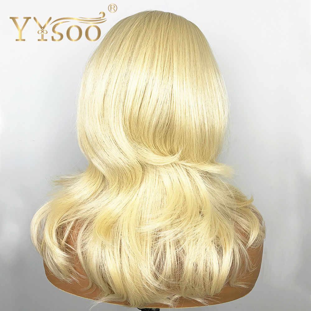 Perruque Lace Front Wig synthétique ondulée-YYsoo | Perruque à 613 de 13x6 pour femmes, perruque Futura japonaise en Fiber de résistant à la chaleur, perruque synthétique Wig150 % de densité