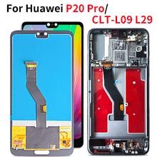 LCD สำหรับ Huawei P20 Pro จอแสดงผล LCD 1080*2240 Touch Screen Digitizer สำหรับ Huawei P20 PLUS LCD CLT AL01 CLT L29 CLT L09 04