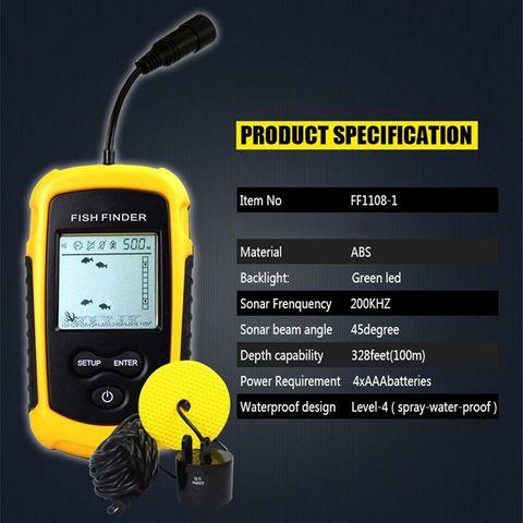 ff1108 1 sonar portatil alarme inventor de peixes