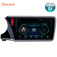 Seicane For 2014 2015 2016 2017 Honda CITY Left Hand Drive 2Din Android 8.1 10.1 GPS Car Radio Audio Stereo Multimedia Player