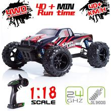 1:18  4WD RC Car Updated Version 2.4G Radio Control RC Car electric remote control truck Off-Road Toys for Children