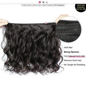 Image 2 - Ishow ผมบราซิลหลวมคลื่น 100% Human Hair Bundles ซื้อ 3 หรือ 4 กลุ่มแถมฟรีของขวัญบราซิลผมสาน