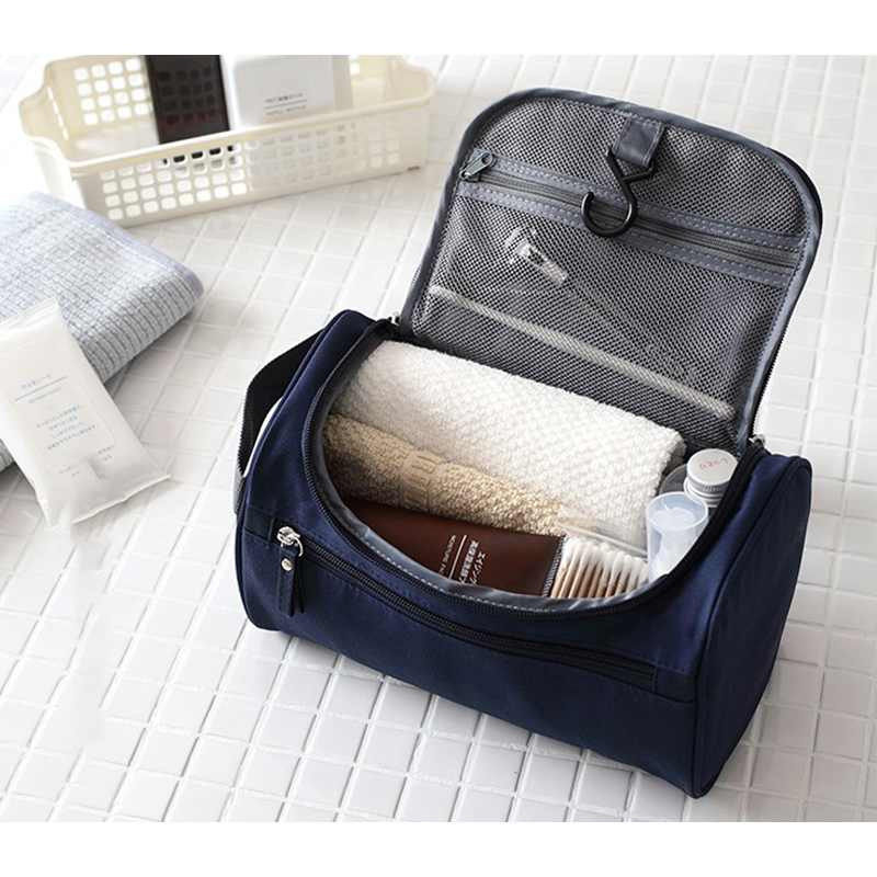 2020 Women Makeup Bag Hanging Zipper Makeup Case Men Waterproof Travel Cosmetic Bag Necessaries Make Up Wash Toiletry Cheap Bag