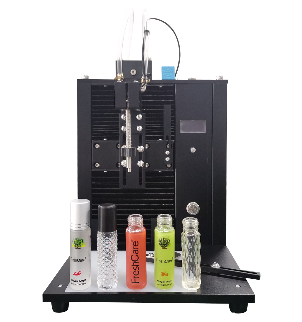 High Speed Essential Oil Small Perfume Cosmetic Bottle Filling Machine Fill Electronic Shisha Liquid