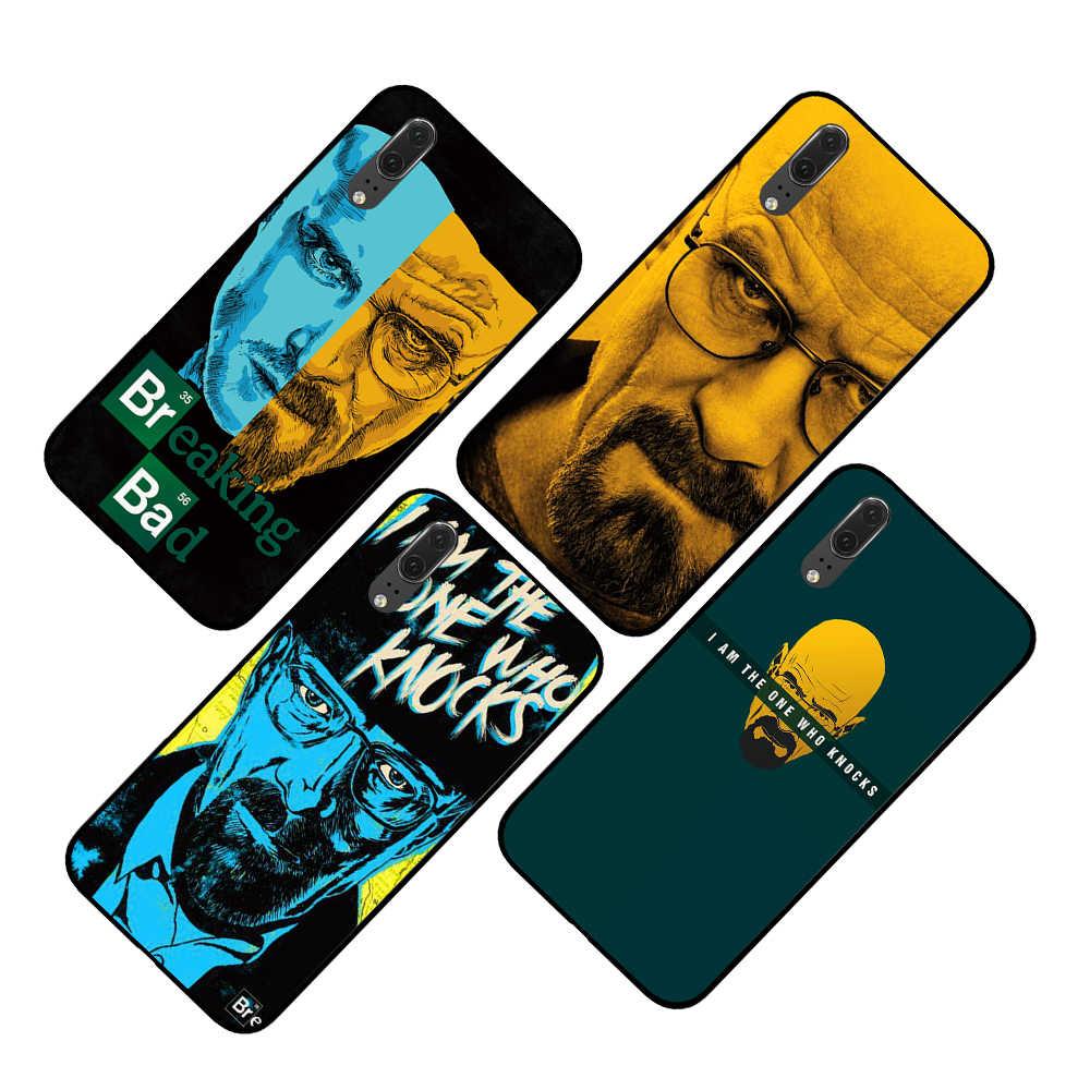 breaking bad Black Phone Case for Huawei P30 P20 Mate 10 20 Pro Lite Nova 3 4 3i Cover