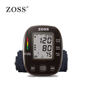 ZOSS latest models English or Russian Voice German chip LCD upper arm blood pressure monitor heart beat instrument tonometer - DISCOUNT ITEM  57% OFF All Category