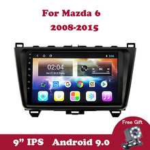Android 9.0 IPS Car Radio For Mazda 6 Rui Wing 2008 2009 2010-2014 Tape Recorder Stereo Multimedia Player GPS Navigation BT WIFI
