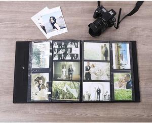 Image 5 - Álbum de fotos para 400 bolsillos, 4x6 fotos, cubierta de cuero, Extra grande, capacidad para boda familiar, aniversario, vacaciones de bebé