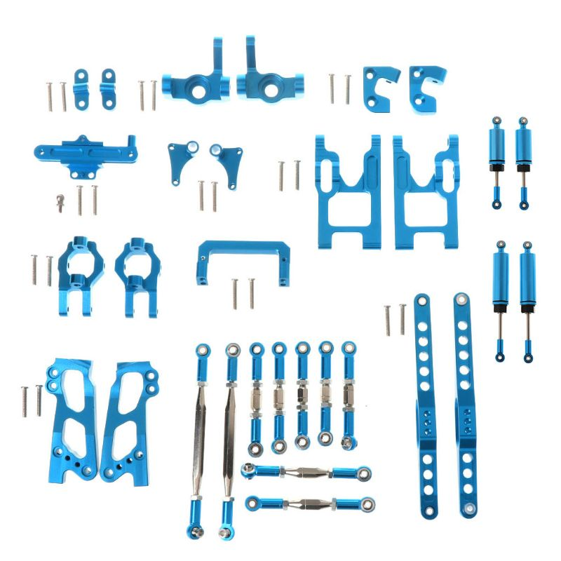 Upgrade Metal Kit <font><b>Shock</b></font> Absorbers for FY03 <font><b>WLtoys</b></font> <font><b>12428</b></font> 1/12 RC Buggy Car Spare Parts image