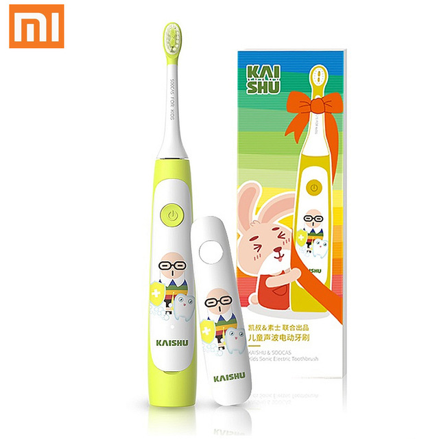 Xiaomi SOOCAS C1 Children Electric Toothbrush Heads Replacement Sonic Toothbrush Heads Kids Cleaning Brush Head 2pcs