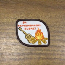 Embroidery chapter custom personalized clothing logo patch