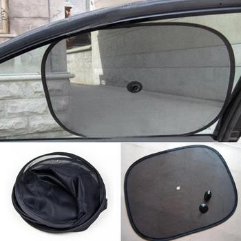 Car Window Sunshade Cover Block For Kids Side Chic Mesh Car Suv Rear Screen Sunshade Visor Shield image