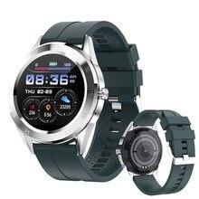 Yeni moda akıllı saat Y10 erkek kadın Bluetooth arama ve cevaplama çağrı spor izci 1.54