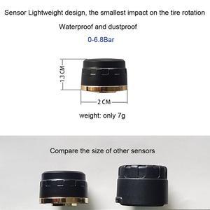 Image 3 - SZDALOS TP200 TPMS  Car Wireless Tire Pressure Monitoring System + 4 Mini Sensors  Cigarette Tyre Pressure Monitoring