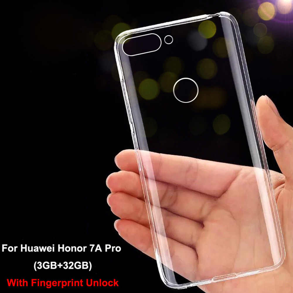 Soft Case Huawei Honor 7A Pro Case Luxury Huawei Honor 7A Transparent Silicone Cover For Huawei Honor 7 A Pro Phone Cases Cover