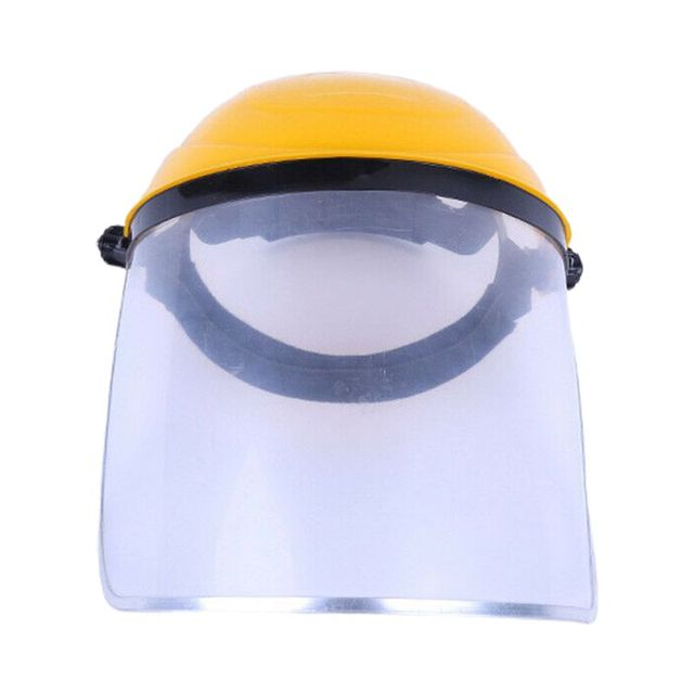 Multipurpose Transparent Removable Anti-saliva Dust-proof Clear Safety Protective Cover Head-mounted Face Eye Shield Screen Grin