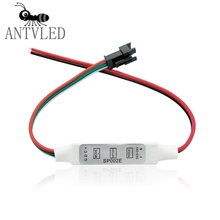Connector Dimmer-Controller Pixel-Module Light-Dc5-24v Mini RGB for 3keys WS2812B 16703