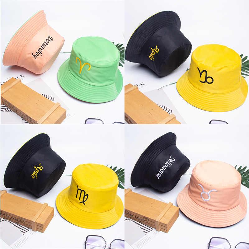 sombrilla de Hip-Hop impresi/ón Protector Solar de Doble Cara Sombrero para Lavabo TIEDAN Sombrero de Pescador de Primavera y Verano para Hombres y Mujeres