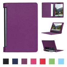 HISTERS PU Leder Fall für Lenovo Yoga Tab 3 Pro 10 YT3-X90F/X90L/X90 Abdeckung Tab 3 Plus 10 YT-X703F/X703L/X703 10,1 zoll Tablet