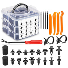 Bumper-Kit Toolbox Auxiliary-Equipment Car Rivet Push-Trim-Clips-Pin Auto-Fasteners Retainer