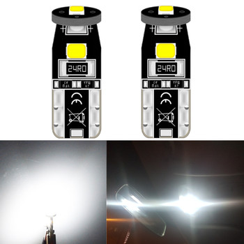 2pcs T10 LED W5W Led Bulb 194 168 Car Interior Bulb Light For BMW 3 5 7 Series E32 E90 E34 E36 E38 E39 E46 E53 E60 E65 E66 E90 image
