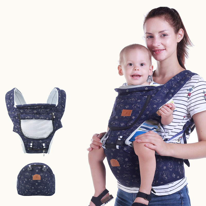 Baby Carrier Backpack Front-Facing Toddler Sling-Wrap Ergonomic Waist-Stool Infant