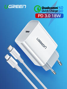 Ugreen PD Charger Usb-Type QC3.0 iPhone Xiaomi 18W for 11-X-Xs/8