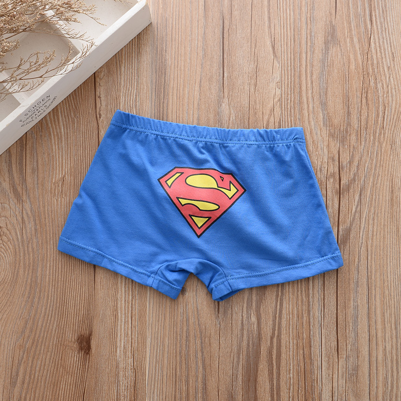 5pcs/lot Kids Boys Underwear Cartoon Children's Shorts Panties for Baby Boy Boxers Panty Teenager Underpants 2-14T BU013 3