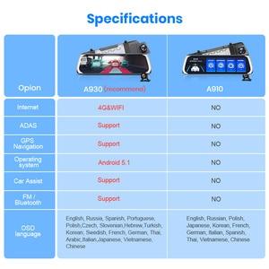 Image 2 - Junsun 4G Android Car DVR with Parking Monitor FHD 1080P RearView Mirror ADAS Dash Cam Camera Video Recorder Registrar Dashcam