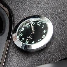 Horloge à Quartz pour voiture, 1 pièce, décoration de voiture, ornement de voiture, intérieur d'automobile, pointeur numérique, accessoires de voiture