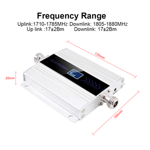 Image 2 - GSM Repeater 1800Mhz 4G Cellular Signal RepeaterCell Signal Amplifier booster DCS 1800 Mobile Phone Signal amplifier +Antenna