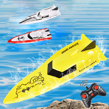 2.4 GHz RC Racing Boat Radio Remote Control Speed Boat High-Speed Strong Power System Fluid Type Design Kids Outdoor Toys HC100