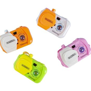 Candy Color Funny Projection Camera Toy Muilti Early Educational Study Toy for Baby Kids Learning Camera Random Color zwo asi385mc camera color